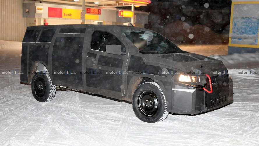 Fiat Mobi pickup spied testing as future tiny truck
