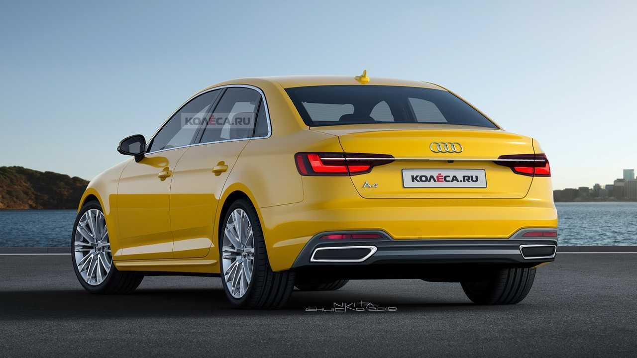 2020 Audi A4 Fan Render