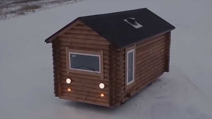 This Cute House On Wheels Is Actually Drivable