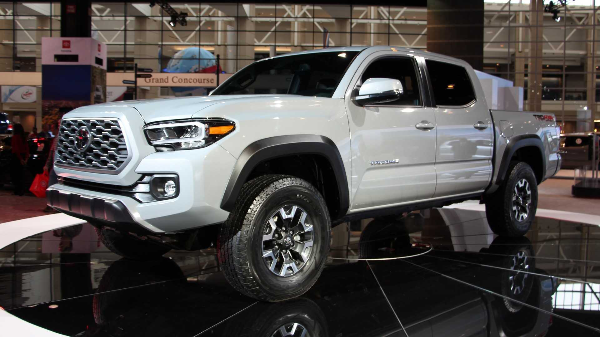 2021 Toyota Tacoma Redesign, Changes, TRD Pro, And Colors >> 2020 Toyota Tacoma Shows Off Subtle Facelift In Chicago Update