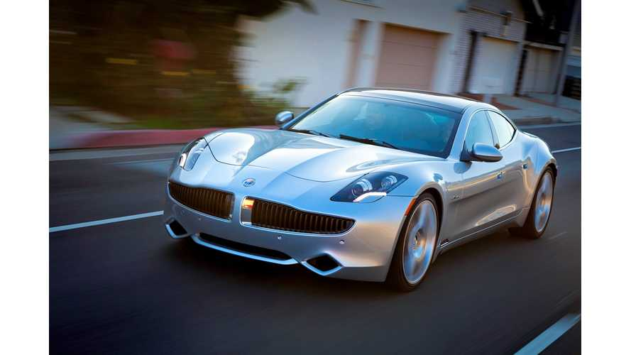 DoE To Auction Off $168 Million Balance Of Fisker Loan