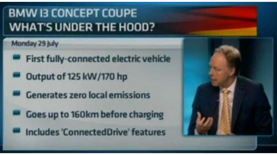 Video: BMW Head of Sales Ian Robertson Discusses i3 Ahead of Unveiling