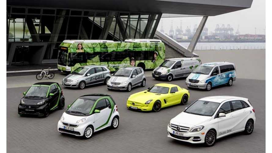 With Smart Fortwo Electric Drive, Daimler Shoots to Top of Electric Vehicle Sales Chart in Germany