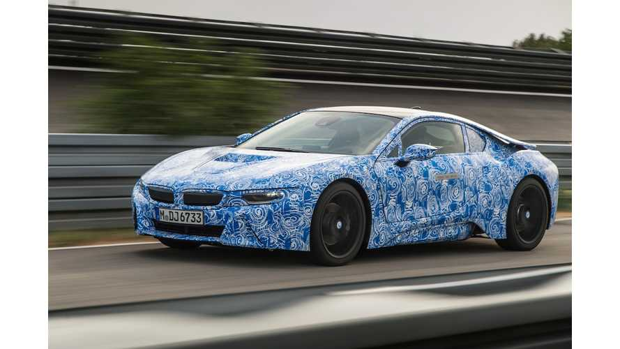As With i3, BMW Predicts US to be Largest Market for i8