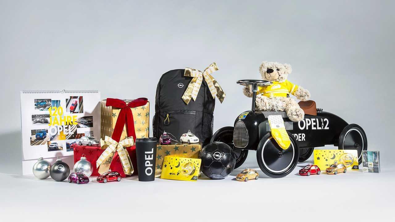 Geschenke aus der Opel-Kollektion
