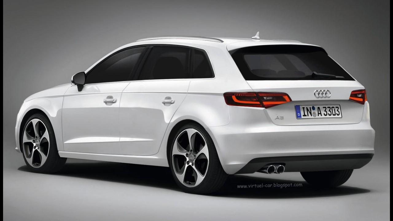Projeção: Novo Audi A3 Sportback 2013