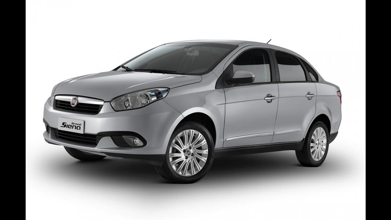 Fiat Grand Siena ganha série especial Itália ao preço de R$ 49.450