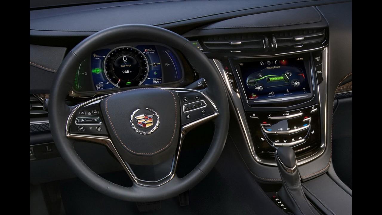 Salão de Detroit: Versão de luxo do Chevrolet Volt, Cadillac ELR é apresentado