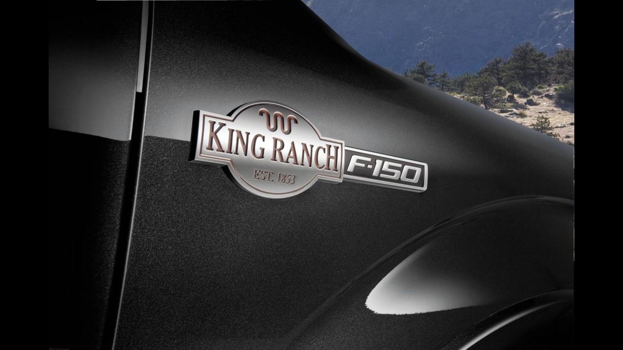 Ford apresenta série especial King Ranch para picape F-150 nos Estados Unidos