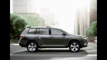 Toyota Highlander produzida nos EUA será exportada para Rússia e Austrália