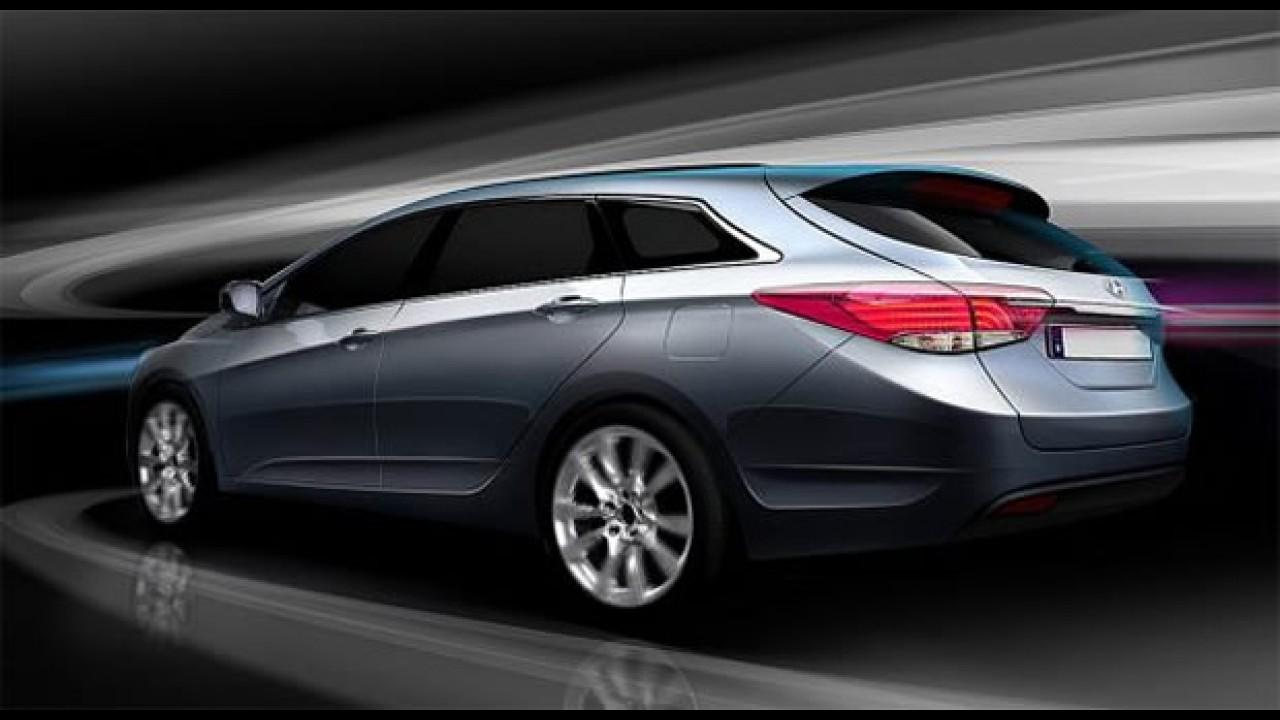 Supresa: Primeiras imagens do Novo Hyundai i40 Kombi - Sonata ou Elantra SW?