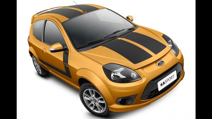 Ford Ka 2012 reestilizado será lançado no próximo dia 2