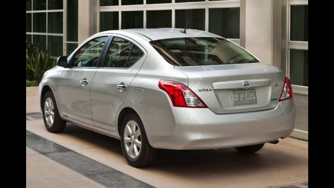 Nissan Versa: Pelo equivalente a R$ 17.400, será o carro mais barato dos Estados Unidos