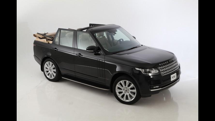 Empresa cria Range Rover Vogue conversível