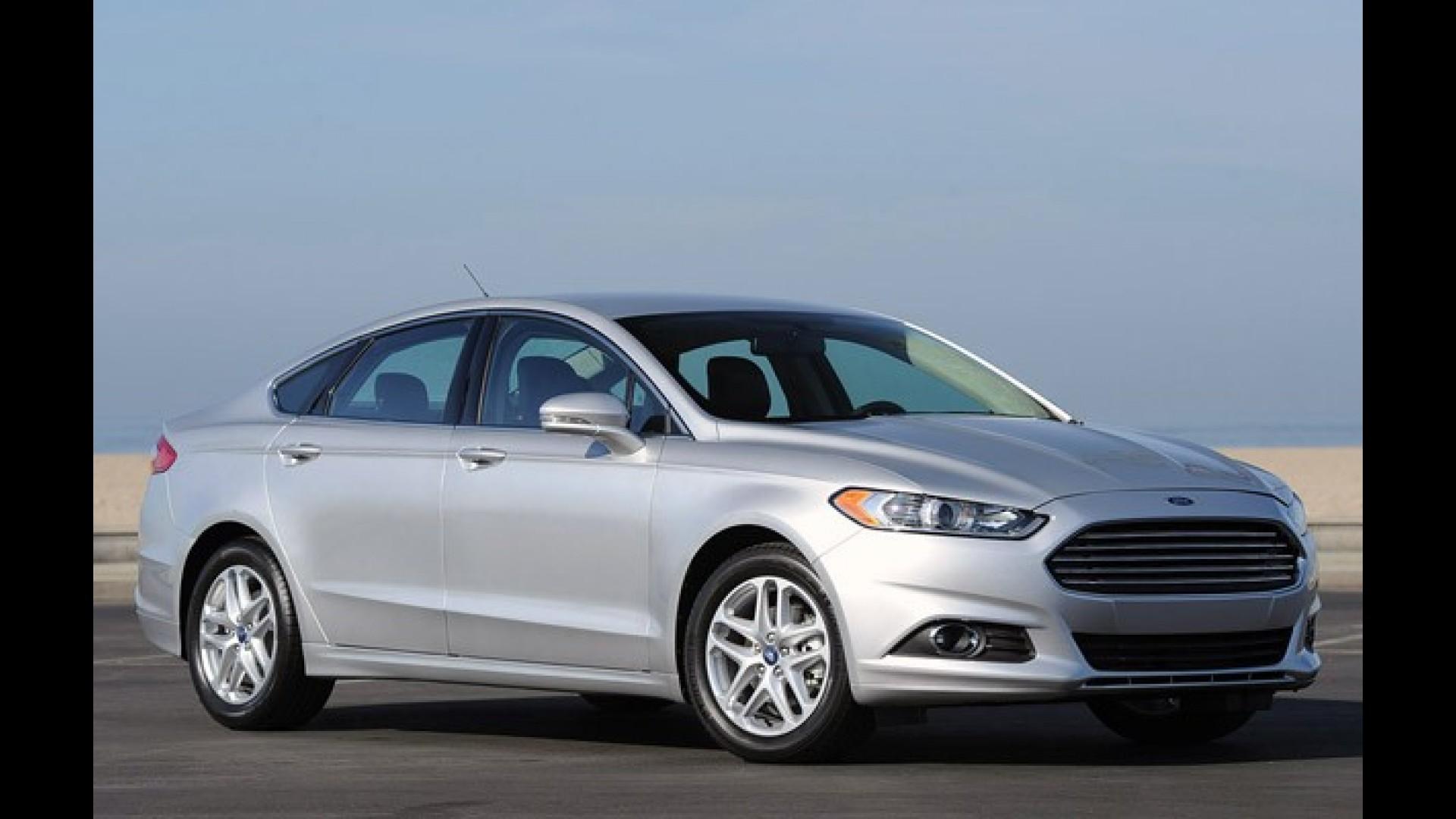 Ford Fusion Tera Visual Atualizado E Novo Interior Em 2016