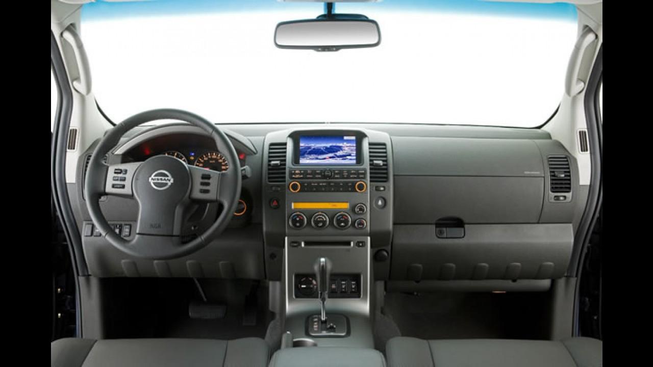 Nissan Frontier 2011 Ganha Leve Reestilizacao E Traz Novidades Na Gama De Motores