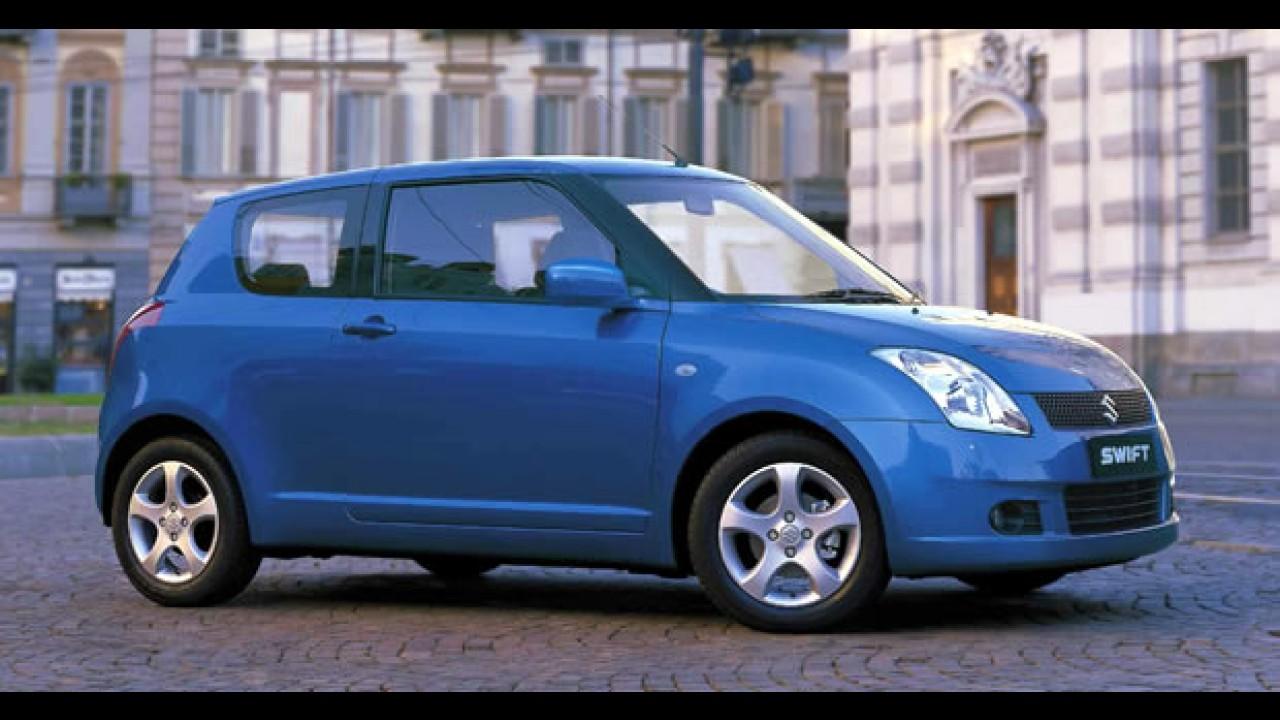 Suzuki anuncia Recall para 40 mil unidades do hatch Swift vendidos na Europa