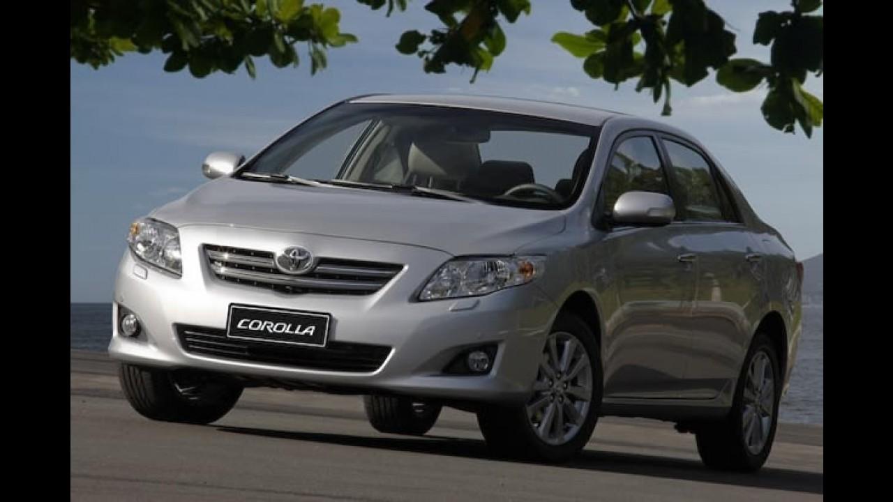 Toyota emite nota oficial sobre a decisão do MPMG de suspender as vendas do Corolla