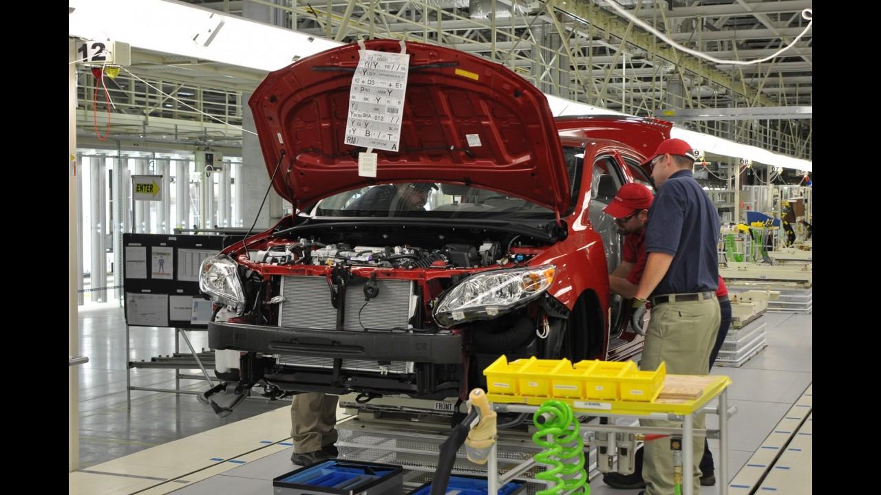 Toyota troca máquinas por humanos em busca de melhor qualidade construtiva