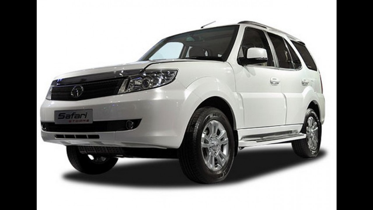 Tata Safari Storme 2012 é revelado no Salão de Nova Délhi