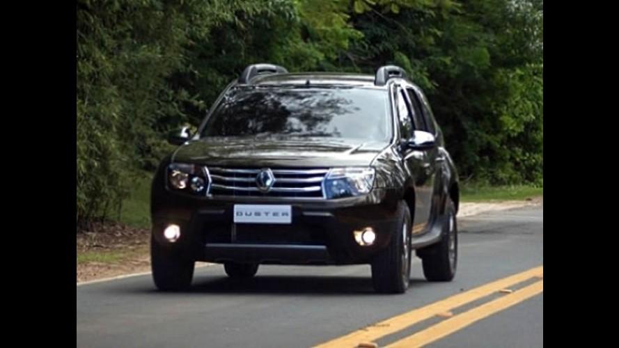"""Renault faz """"pré-apresentação"""" do Duster, mas não mostra - Utilitário terá tração 4x4"""