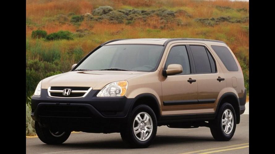Honda CR-V sob investigação nos EUA por causa dos faróis