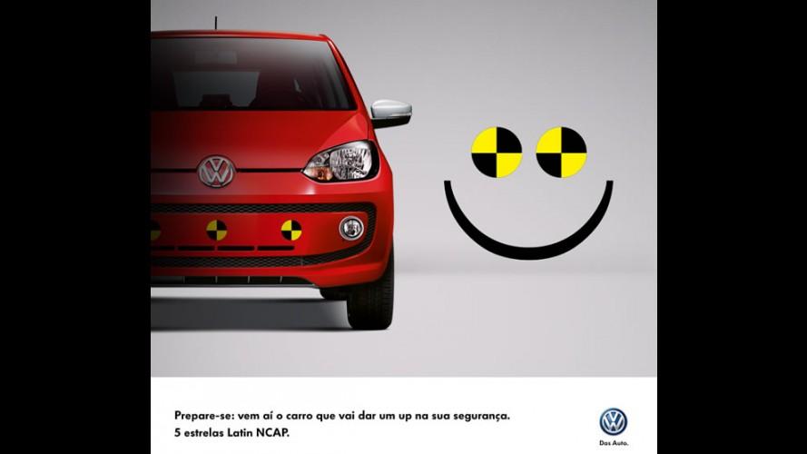 VW já destaca segurança do Up! nas redes sociais