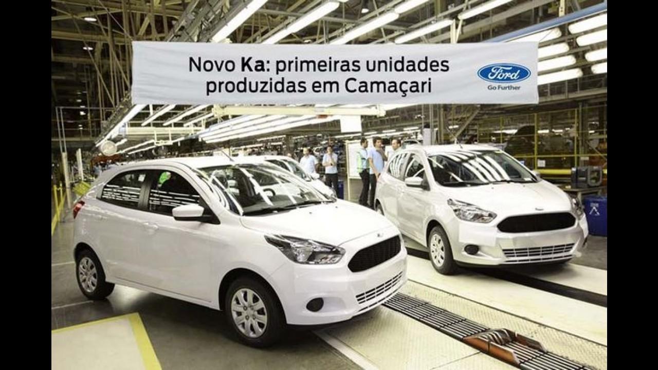 Ford começa a produzir o novo Ka, que parte de R$ 35.390, em Camaçari (BA)