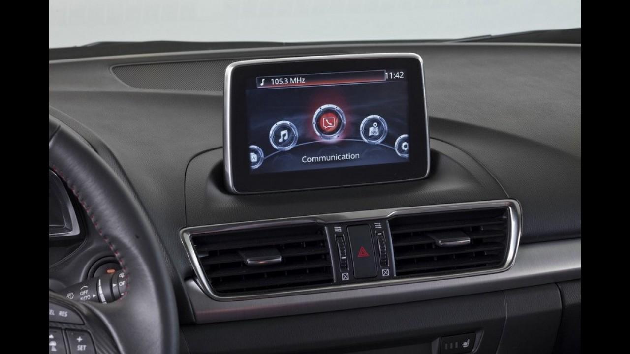 Veja as primeiras fotos oficiais do Mazda3 sedan