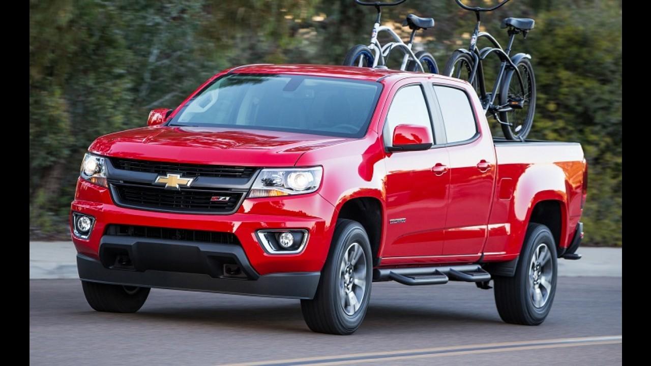 GM Colorado e Canyon têm vendas suspensas por falha no airbag