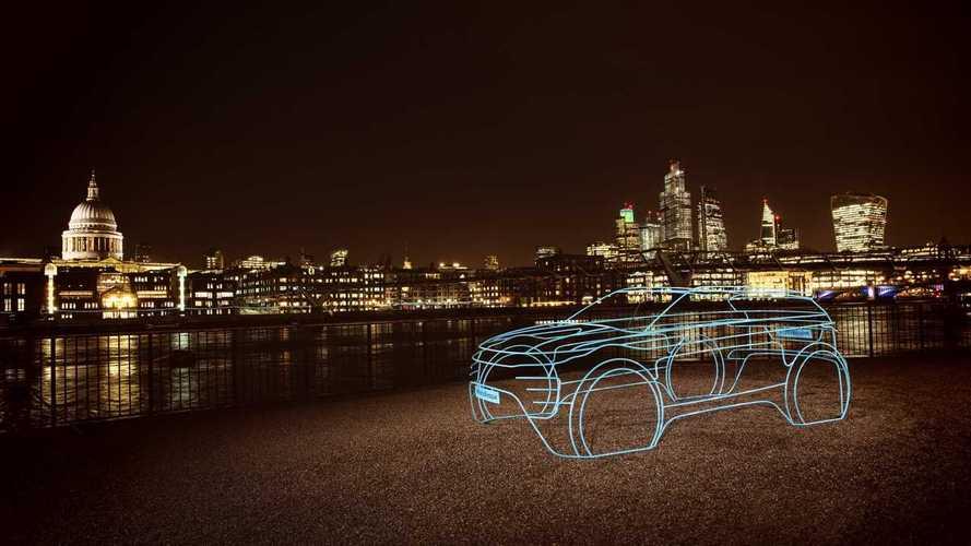 2020 Range Rover Evoque teasers