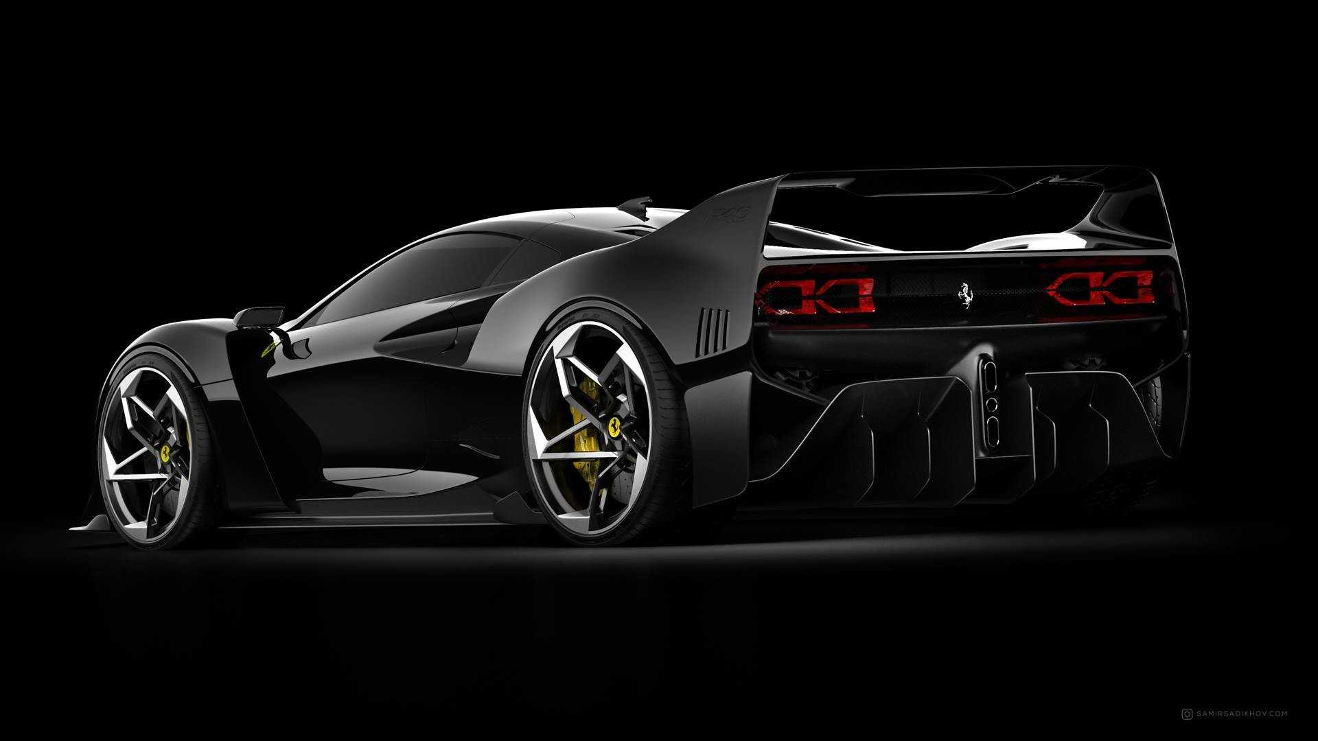 Ferrari F40 Tribute Is Stunning From All Angles