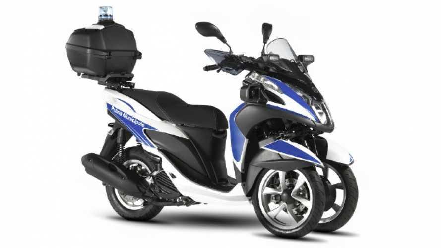 Yamaha Tricity 125: ora anche per le Forze dell'Ordine