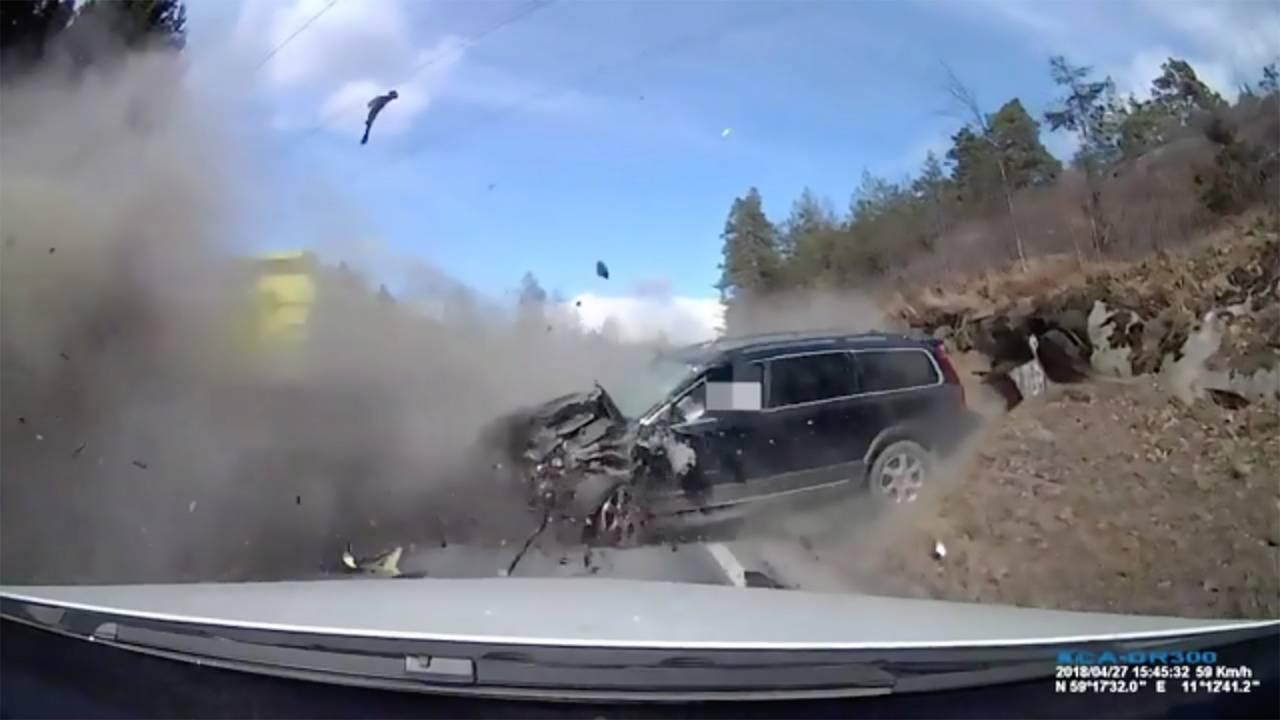 Volvo Head-On Crash