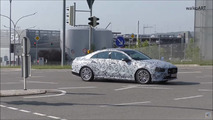 New Mercedes CLA screenshot from spy video