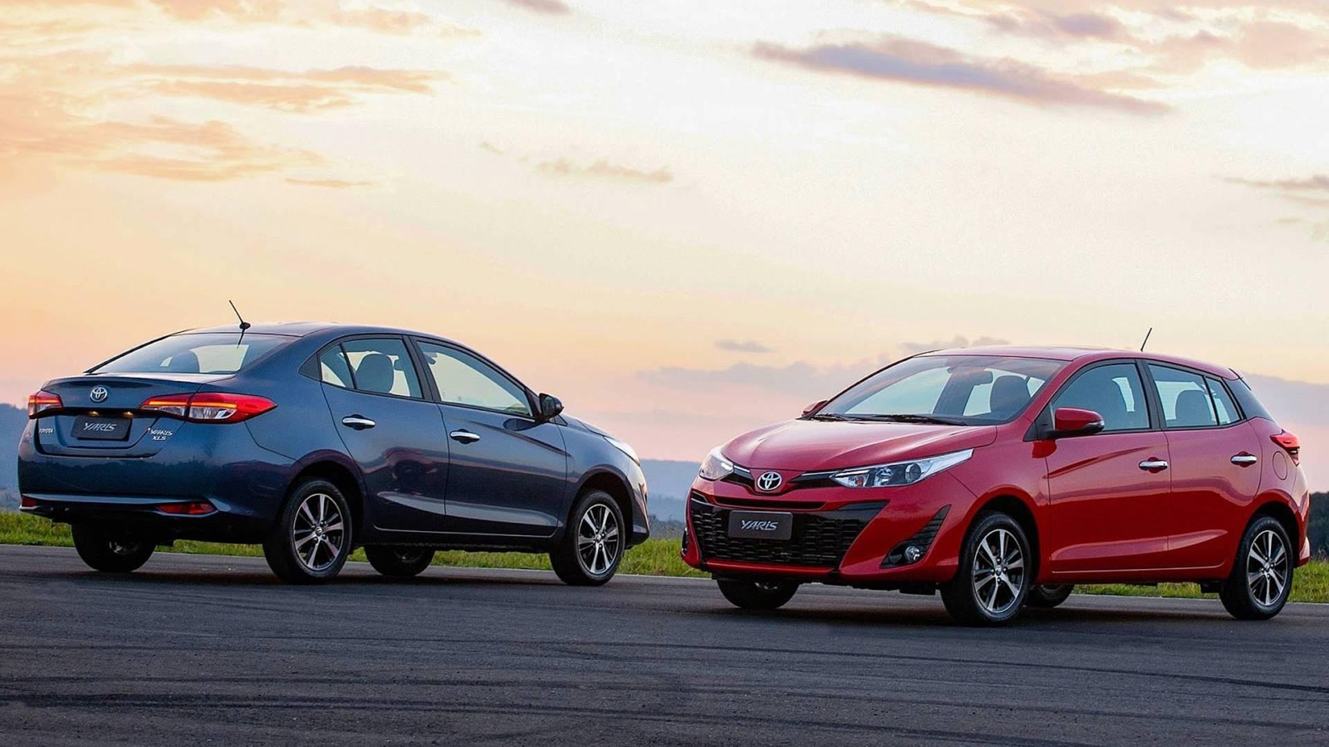 Oficial Toyota Yaris Chega Por R 59 590 Veja Versoes Conteudos E Precos