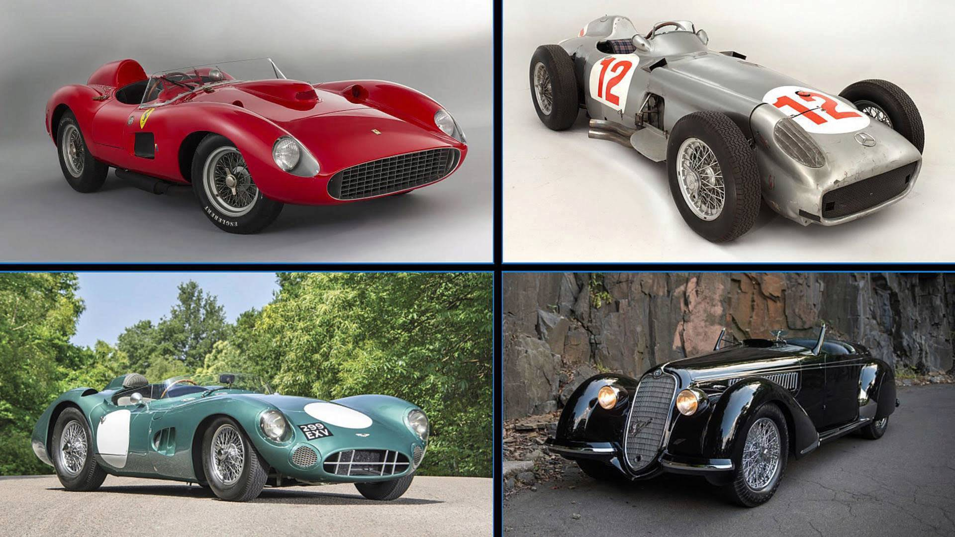 10 Most Expensive Cars Sold At Auction Adjusted For Inflation