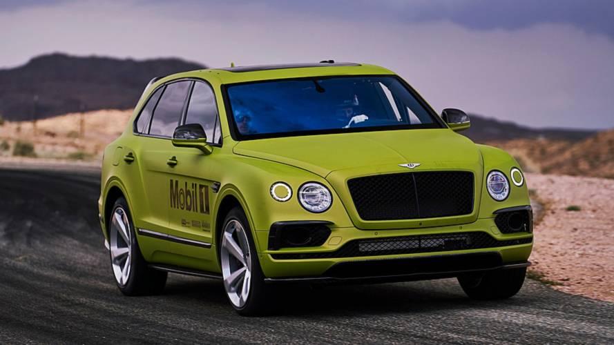 Pikes Peak Yarışına Katılacak Olan Bentley Bentayga