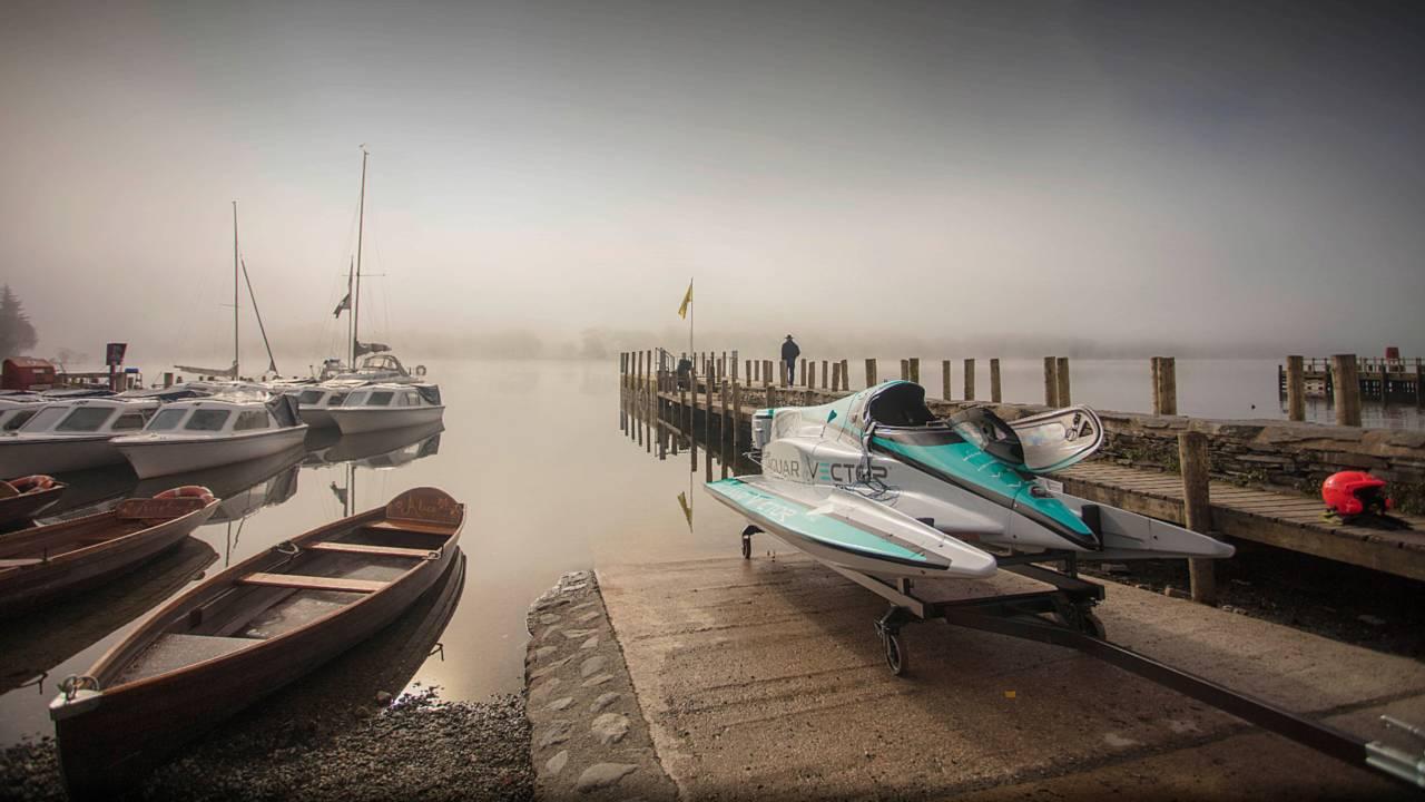 Jaguar Vector Racing V20E powerboat