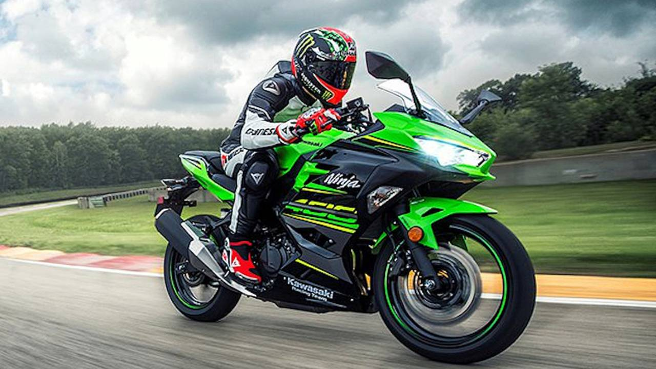 Ninja 400 Eligible for Supersport 300 Class