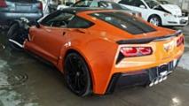 Wrecked 2019 Corvette Grand Sport