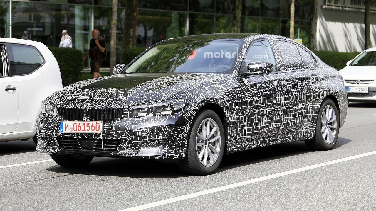 2019 BMW 3 Serisi Sedan casus fotoğraflar