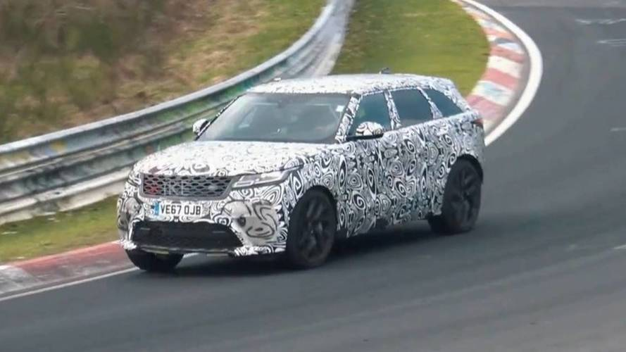 Range Rover Velar SVR Sounds Naughty At The Nürburgring