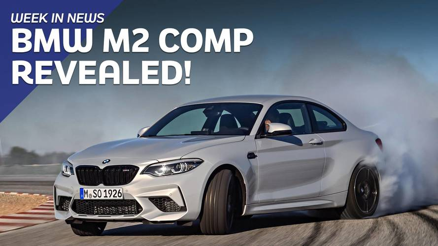 Motor1.com The Week in News: BMW M2 Competition Revealed