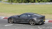 Aston Martin DBS Superleggera spy photo
