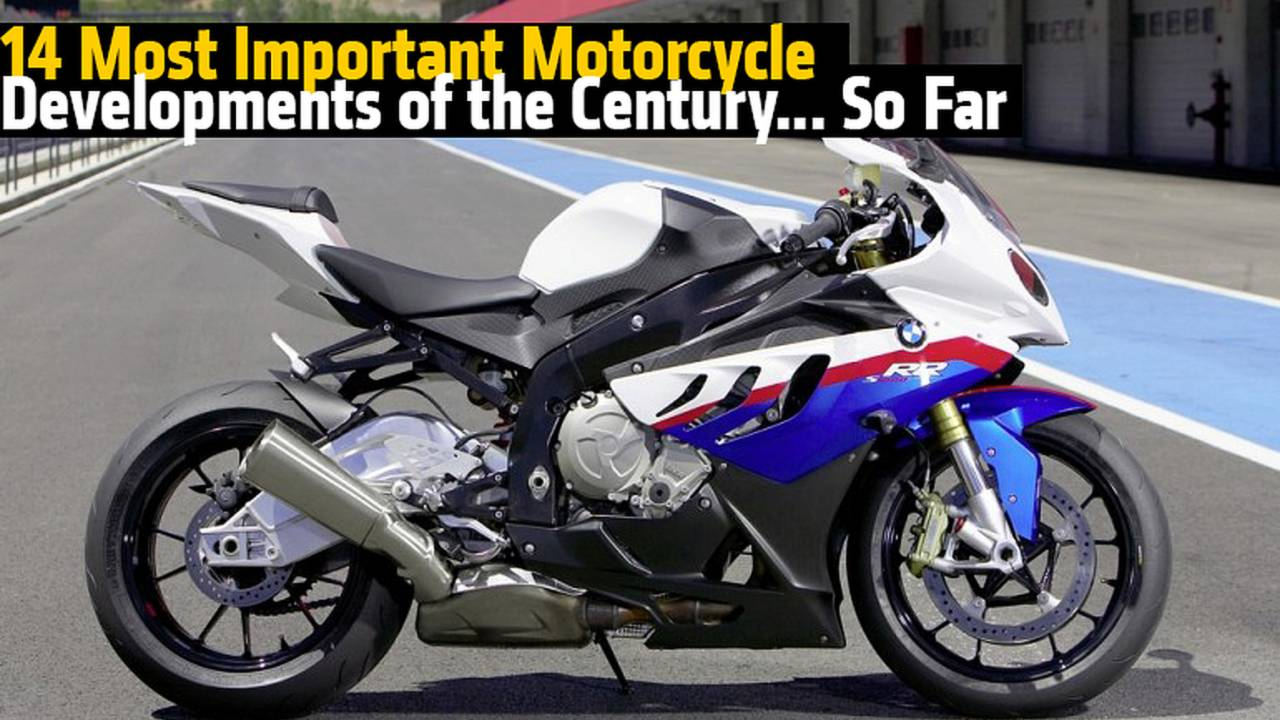 14 Most Important Motorcycle Developments of the Century