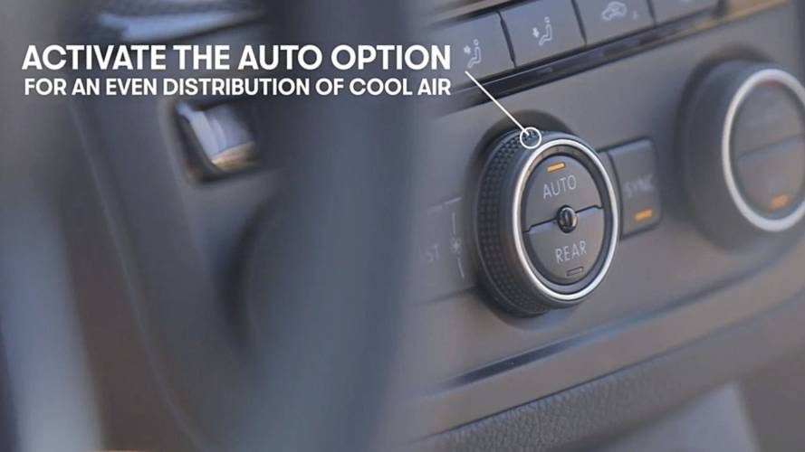 Seat tips for better air conditioning