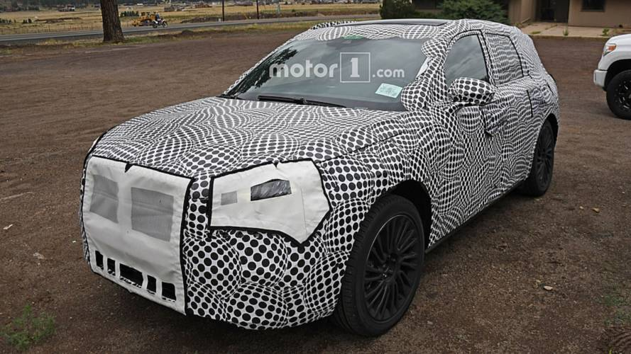 2020 Lincoln Corsair Spy Photos