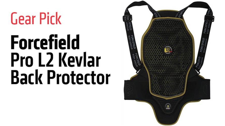 Gear Pick: Forcefield Pro L2 Kevlar Back Protector