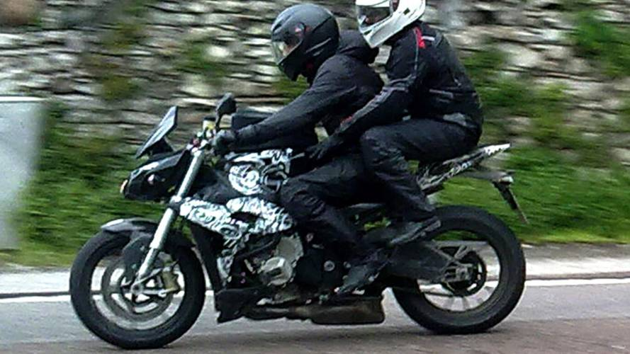 Spy Photos: BMW S1000S